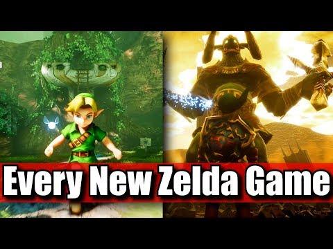 New Zelda Games in 2018 2019 & 2020