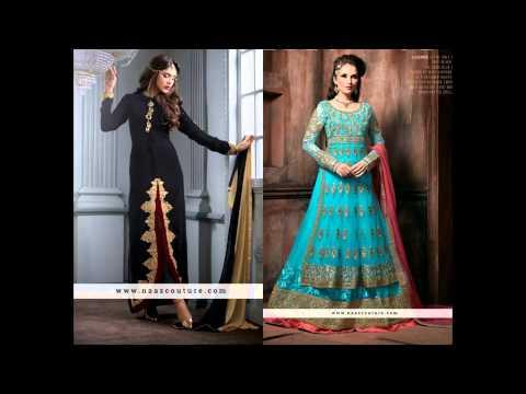 New Designer Anarkali Kameez Collection