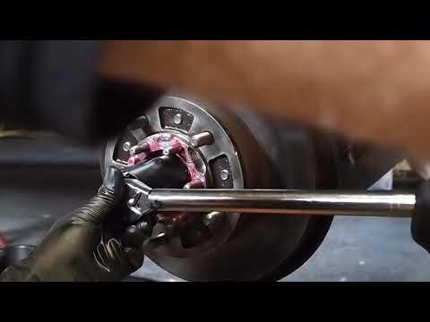 Wheel bearing preload set 14.5lb. 100 series Toyota Land Cruiser 4 of 6.