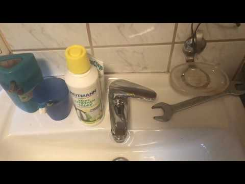 How to clean a faucet aerator with citric acid DIY