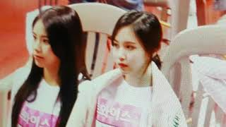 180115 ISAC - part2 moment  Michaeng Twice ( Mina x Chaeyoung )