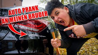 ICH ZERSTÖRE Bruders 60.000€ AUTO PRANK😂  Can Wick