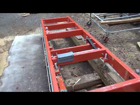 Bevel Siding guides for the Woodmizer LT15