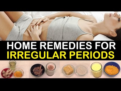 HOME REMEDIES FOR IRREGULAR PERIODS || Menstruation Problems