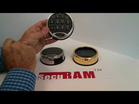SafeLogic Series - How to change the batteries - SecuRam