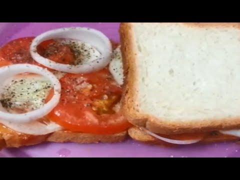 Tomato Cucumber Sandwich, Veg Sandwich, Veg Sandwich Recipe, Veg Sandwich for Weight Loss, Sandwich