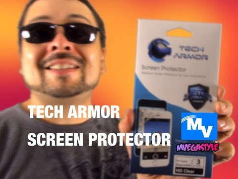 Tech Armor Screen Protector unboxing and Installation