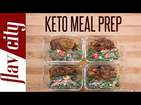 Bodybuilding Recipes To Bulk Shred – Keto Meal Prepping That Doesn't Suck