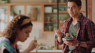 Sanya Malhotra and Rajkumar Rao Maggi Ad