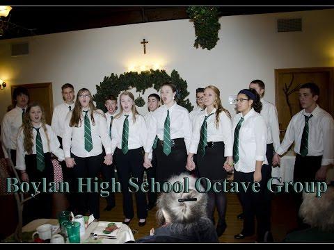 Boylan High School's Octave Group
