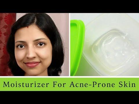 Homemade Moisturizer for Oily & Acne Prone Skin | Natural Remedy | DIY