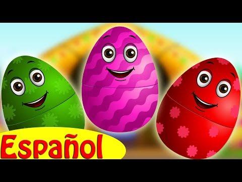 Huevos Sorpresas Granja de MacDonald  | animales de la Granja | ChuChu TV