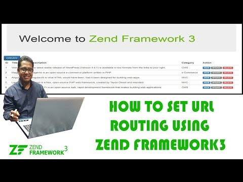 How to Set Routes in Zend Framework3 Part-6