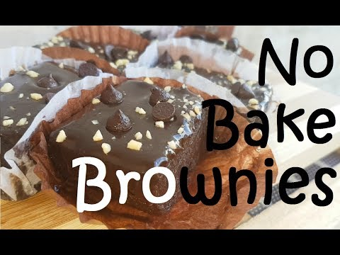 No Bake Brownies | Fudgy Brownies | Eggless brownies| No Bake Fudgy Brownies|No bake Brownies recipe