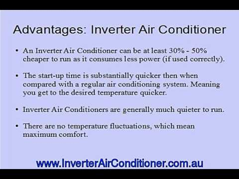 Advantages of an Inverter Air Conditioner