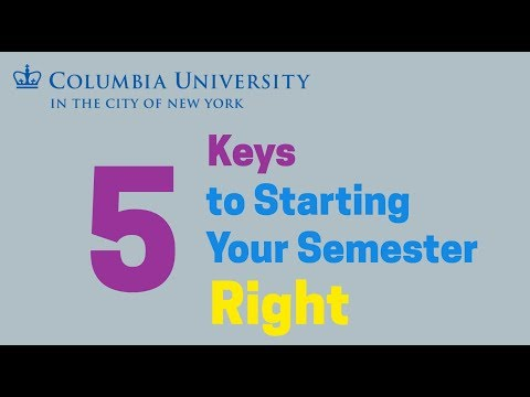 2017 Columbia University Orientation Video
