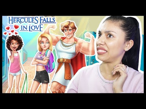 THE  NEW GUY AT SCHOOL HAS A CRUSH ON ME! - Hercules Falls in Love - Boys & Girls School Crush!