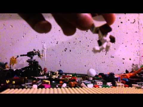 Minecraft Mutant Skeleton Lego Build