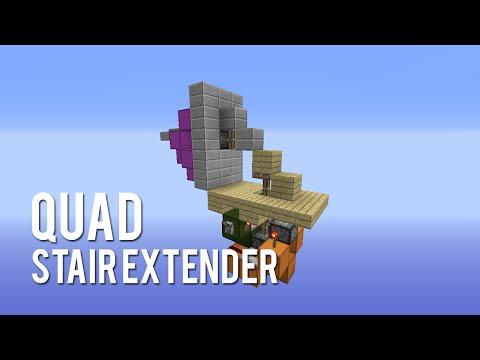 Redstone: Quad Stair Extender [Tutorial]