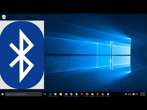 How to get bluetooth on a Windows 10 computer (Details in the Description)
