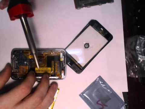 How to Desolder the iTouch 2nd Gen Battery