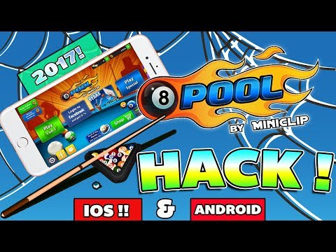 UNLIMITED FREE COINS  *WORKING* 8 Ball Pool Hacks For Android And IOS Devices 2017 !!(No Root)