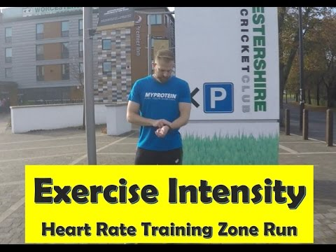 BTEC PE - Exercise Intensity: Heart Rate Training Zone Run