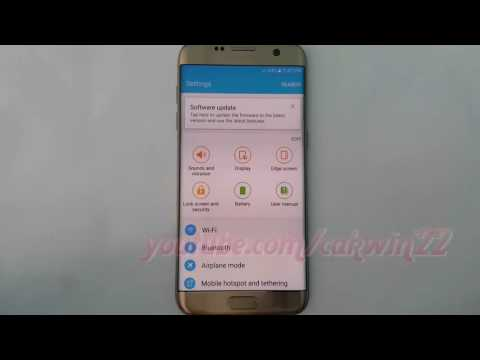 Samsung Galaxy S7 Edge : How to Enable or Disable Android Device Manager (Android Marshmallow)