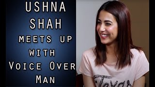 Ushna Shah Funny Interview with Voice Over Man - Episode #17