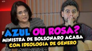Ministra de Bolsonaro ACABA com a IDEOLOGIA DE GÊNERO em entrevista a GLOBO