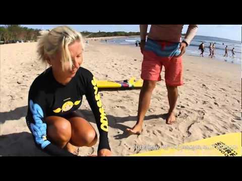 Learn to surf Bali Odysseysurfschool.com