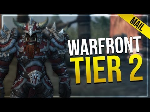 Warfront Tier 2 Mail Armor   In-game Preview   Hunter & Shaman   All Horde Male & Female Races!