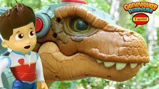 ¡El mejor video de aprendizaje de Paw Patrol Toy para niños Dinosaur Rescue Mission!