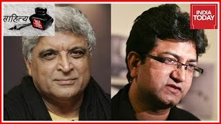 Sahithya Aaj Tak: Javed Akhtar, Prasoon Joshi, Piyush Mishra, Swanand Kirkire,Chetan Bhagat,