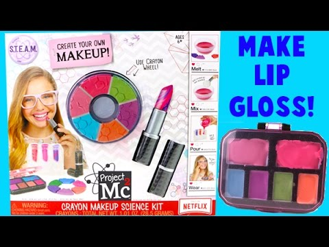 Project MC2 Crayon Makeup Science Kit - DIY Make Your Own Lip Gloss!