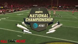 Alabama Game Winning Touchdown - Tua Tagovailoa - College Football Championship Game