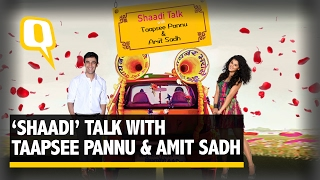 The Quint: Taapsee Pannu and Amit Sadh Talk