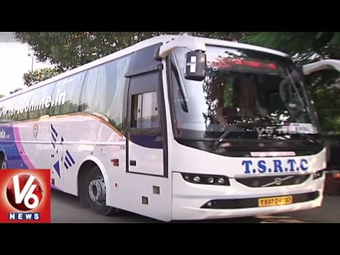 TSRTC Initiate Discount On Fares Equal To Private Travels | Hyderabad - Mumbai, Tirupati | V6News