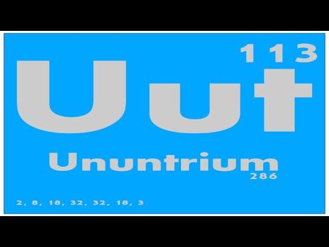 STUDY GUIDE: 113 Ununtrium | Periodic Table of Elements