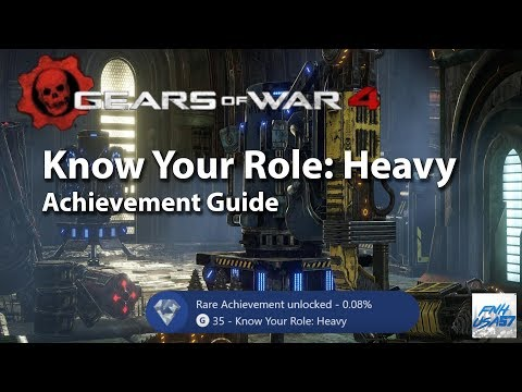 Know Your Role: Heavy Achievment Guide