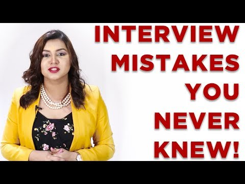 3 WORST MISTAKES That Can Screw Up Your Job Interview In Seconds!!! — Interview Skills & Mistakes