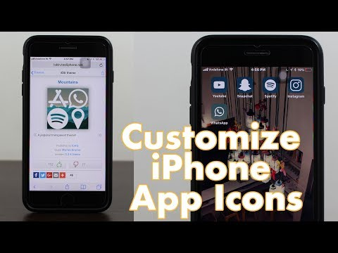 How to Customize iPhone App Icons Without Jailbreak!