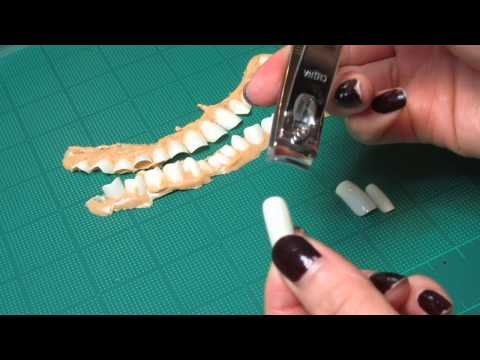 How to Make Inexpensive SFX Teeth
