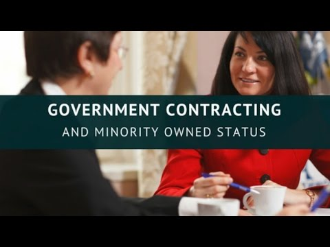 Minority owned business: Government Contracting And Minority-Owned Status - TendersPage