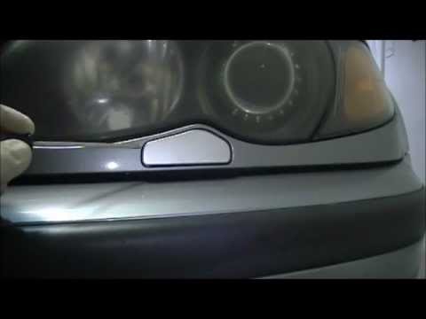 BMW 330i Headlight Lens and Washer Nozzle Replacement DIY