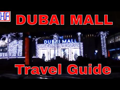 Dubai | Dubai Mall, Dubai Aquarium, Dubai Fountain and Dubai Ice Rink | Travel Guide | Episode# 8