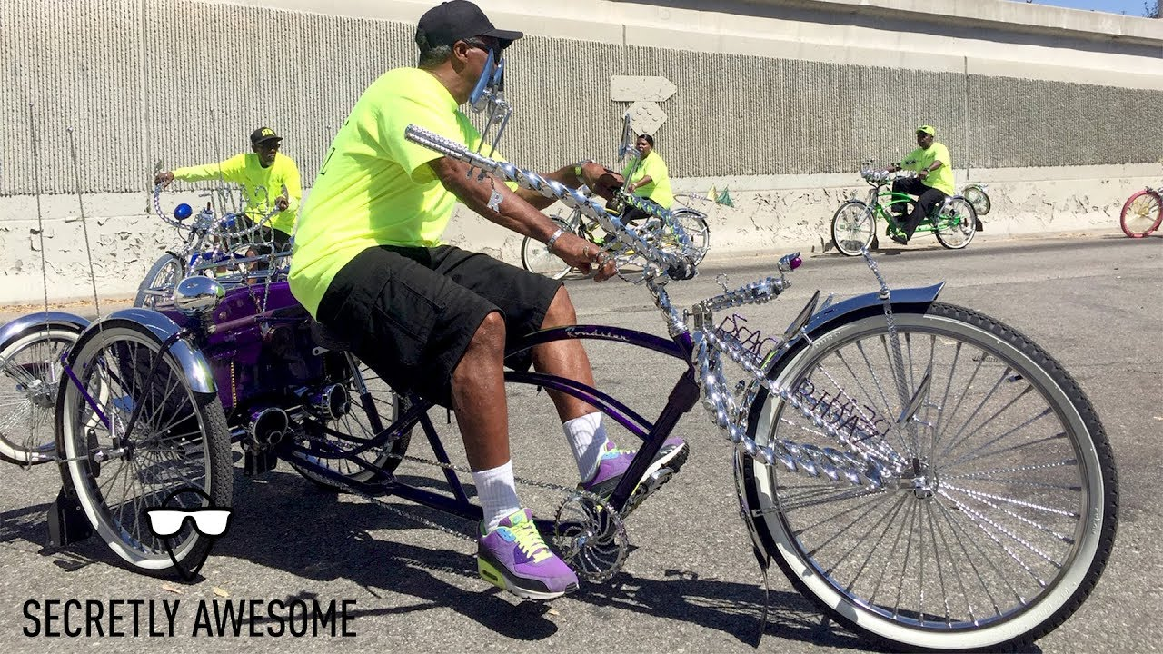 Lowrider Bikes: The Godfather of Lowrider Bikes - Manny's Bikes in Compton