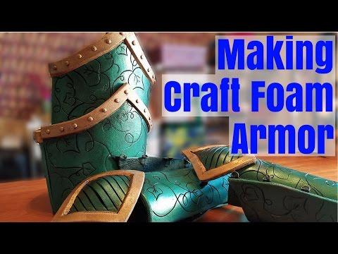 Making Craft Foam Armor Part 1