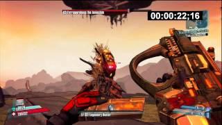 Borderlands 2 - How to Solo Terramorphous UVHM! (Zer0 W