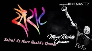 Mere Rashke Qamar Vs Sairat  By Pratik Doshi | New Version | | Viral Video | Zingat | Full HD |